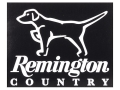 Product detail of Remington Country Dog on Point Decal White