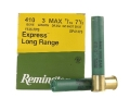 "Remington Express Long Range Ammunition 410 Bore 3"" 11/16 oz #7-1/2 Shot Box of 25"