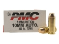 PMC Bronze Ammunition 10mm Auto 200 Grain Full Metal Jacket Box of 50