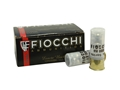 "Fiocchi Exacta Ammunition 12 Gauge 2-3/4"" 00 Buckshot 9 Nickel Plated Pellets Box of 10"