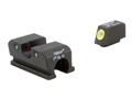Trijicon HD Night Sight Set Walther P99, PPQ Steel Matte 3-Dot Tritium Green with  Front Dot Outline