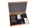 Product detail of Winchester 30-Piece Universal Gun Cleaning Kit in Wood Case