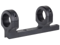 DNZ Products Game Reaper 1-Piece Scope Base with 1&quot; Integral Rings CVA Black Powder Matte High