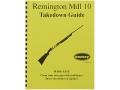 """Radocy Takedown Guide """"Remington 10"""""""
