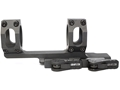 American Defense Recon Quick-Release Extended Scope Mount Picatinny-Style with 1&quot; Rings AR-15 Flat-Top Matte