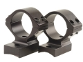 "Talley Lightweight 2-Piece Scope Mounts with Integral 1"" Rings Winchester 70 Post-64 with .435 Rear Mount Hole Spacing (.300 H&H, .375 H&H and .458 Winchester Magnums) Low Matte"