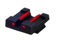 HIVIZ Rear Sight Sig Sauer P220, P225, P226, P228, P229, P239 Steel Fiber Optic Red- Blemished
