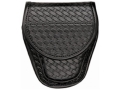 Bianchi 7900 AccuMold Elite Covered Cuff Case Hidden Snap Basketweave Trilaminate Black