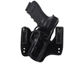Product detail of Galco V-HAWK Inside the Waistband Holster Right Hand Glock 19, 23, 32  Leather Black