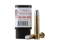 Product detail of Ten-X Cowboy Ammunition 45-90 WCF Single Shot 405 Grain Round Nose Flat Point BPC Box of 20
