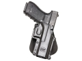Product detail of Fobus Roto Paddle Holster Right Hand Glock 20, 21, 37, 38 Polymer Black