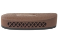 "Product detail of Pachmayr F325 Deluxe Field Recoil Pad Grind to Fit 1.15"" Large with Stippled Face Brown"