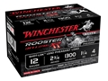"Winchester Rooster XR Pheasant Ammunition 12 Gauge 2-3/4"" 1-1/4 oz #4 Copper Plated Shot Case of 150 (10 Boxes of 15)"