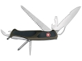Wenger Swiss Army RangerGrip 178 Folding Knife 11 Function Swiss Surgical Steel Blades Polymer Scales Olive Drab