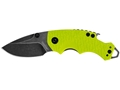 "Kershaw Shuffle Folding Pocket Knife 2.4"" Drop Point Stainless Steel BlackWashed Blade Nylon Handle"
