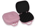 Bulldog Molded EVA Pistol Gun Case 7.5&quot; x 9&quot; Nylon Pink
