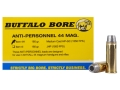 Buffalo Bore Ammunition 44 Remington Magnum 180 Grain Medium Cast Hollow Point Gas Check Anti-Personnel Box of 20