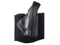 DeSantis Die Hard Ankle Holster Right Hand Smith &amp; Wesson M&amp;P Shield Leather Black