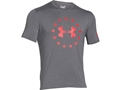 Under Armour Men's UA Freedom T-Shirt Short Sleeve Cotton and Polyester