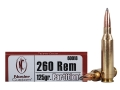 Product detail of Nosler Trophy Grade Ammunition 260 Remington 125 Grain Partition Spitzer Box of 20
