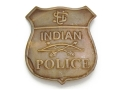 Collector&#39;s Armoury Replica Old West Indian Police Badge Brass