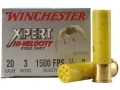 "Winchester Xpert High Velocity Ammunition 20 Gauge 3"" 7/8 oz #2 Non-Toxic Plated Steel Shot Box of 25"