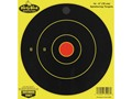 "Birchwood Casey Dirty Bird Chartreuse 6"" Bullseye Targets Package of 16"