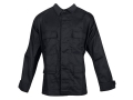Tru-Spec BDU Jacket Cotton and Polyester Twill Black Medium Regular (67-71 Height 37-41 Chest)