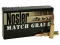 Product detail of Nosler Match Grade Ammunition 308 Winchester 155 Grain Custom Competition Box of 20