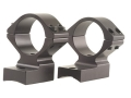 "Talley Lightweight 2-Piece Scope Mounts with Integral 1"" Extended Front Winchester 70 Post-64 with .435 Rear Mount Hole Spacing Matte Medium"