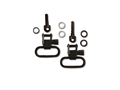 "GrovTec Sling Swivel Set Winchester 70A Sling Swivel Studs 1"" Locking Swivels Steel Black"