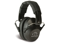 Walker's Pro-Low Profile Folding Earmuffs (NRR 31 dB) Black