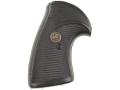 Pachmayr Presentation Grips S&W N-Frame Round Butt Rubber Black