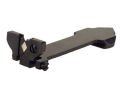 Marble's #95 Folding Sporting Rear Sight Rifle-Style Blade Flat Top Steel Blue