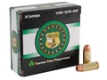 Copper Only Projectiles (C.O.P.) Ammunition 10mm Auto 155 Grain Solid Copper Hollow Point Lead-Free Box of 25