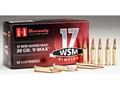 Hornady Ammunition 17 Winchester Super Magnum 20 Grain V-Max Box of 50