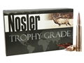 Nosler Trophy Grade Ammunition 338 Winchester Magnum 225 Grain AccuBond Box of 20
