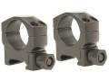 "Leupold 1"" Mark 4 Picatinny-Style Rings Matte Medium"