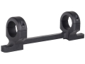 DNZ Products Game Reaper 1-Piece Scope Base with 1&quot; Integral Rings Savage 110 Through 116 Flat Rear Long Action Matte High