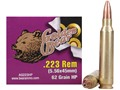 Golden Bear Ammunition 223 Remington 62 Grain Hollow Point (Bi-Metal) Box of 20