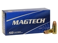 Product detail of Magtech Sport Ammunition 9mm Luger +P+ 115 Grain Jacketed Hollow Point Box of 50