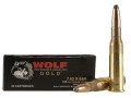 Wolf Gold Ammunition 7.62x54mm Rimmed Russian 180 Grain Soft Point Box of 20