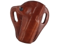 El Paso Saddlery Crosshair Outside the Waistband Holster Right Hand 1911 Government Leather Russet Brown
