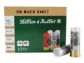 "Sellier & Bellot Ammunition 12 Gauge 2-3/4"" #4 Buckshot 21 Pellets Box of 10"