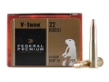Federal Premium V-Shok Ammunition 22 Hornet 45 Grain Speer Soft Point Box of 50