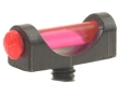 "Marble's Expert Shotgun Front Bead Sight .094"" Diameter 5-40 Thread 3/32"" Shank Extra-Lum Fiber Optic Orange"