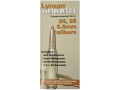 Lyman Load Data Book 24, 25 Caliber and 6.5mm Rifle