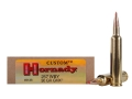 Product detail of Hornady Custom Ammunition 257 Weatherby Magnum 90 Grain Gilding Metal Expanding Boat Tail Box of 20
