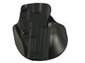 Safariland 5198 Paddle and Belt Loop Holster with Detent Right Hand S&W M&P 9mm/40 Polymer Black