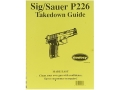 "Product detail of Radocy Takedown Guide ""Sig Sauer P226"""